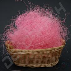 Наполнитель сизаль нежно-розовый