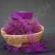 Наполнитель сизаль фиолетовый