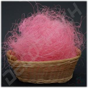 Наполнитель сизаль розовый