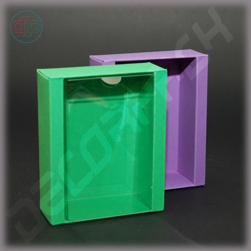 Коробка 110(110)*90(70)*35 мм  (с прозрачной крышкой)