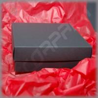 Коробка 150(120)*150(120)*35 мм с глухой крышкой, дизайнерский картон