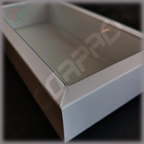 Коробка 200(180)*100(80)*35 мм с внутренней пластиковой крышкой