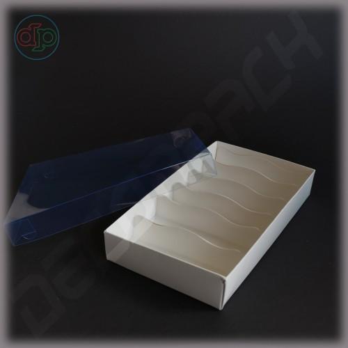 Коробка 200*120*35 мм  (с наружной прозрачной крышкой)