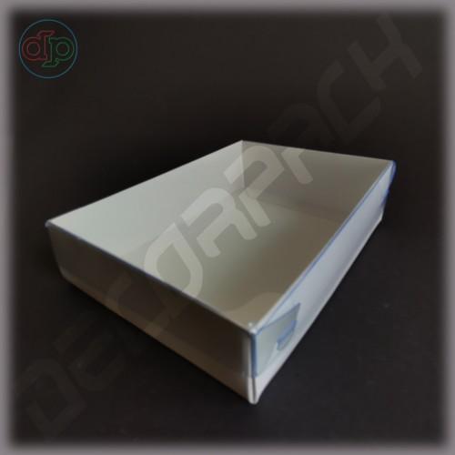 Коробка 160*115*45 мм  (с прозрачной наружной крышкой, высота крышки 35 мм)