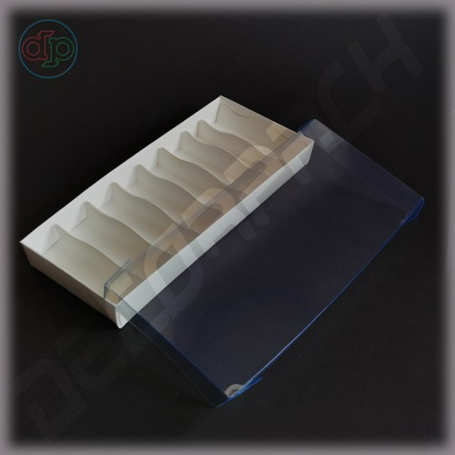 Коробка 250*120*35 мм  (с наружной прозрачной крышкой)