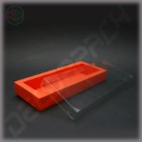 Коробка 270(240)*110(80)*35 мм с прозрачной крышкой