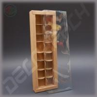 Коробка 350(320)*110(80)*35 мм с прозрачной крышкой