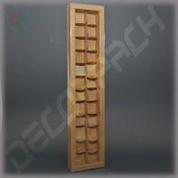 Коробка 510(480)*110(80)*35 мм с прозрачной крышкой
