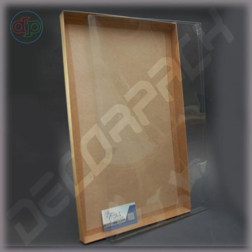 Коробка 500*300*30 мм с прозрачной наружной крышкой
