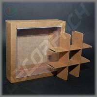 Комплект разделителей на 9 изделий для коробки 150х150х50 мм