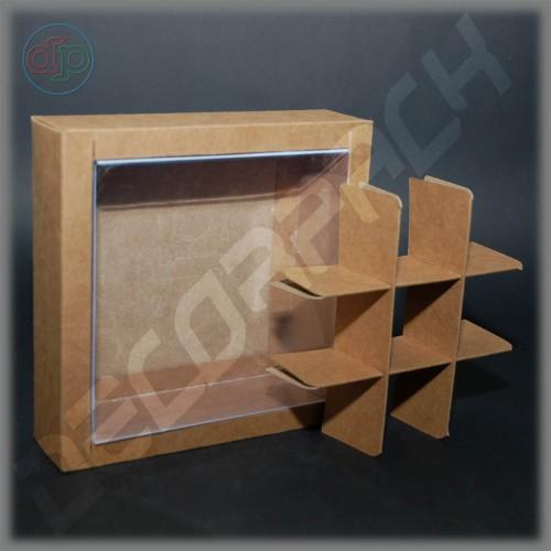 Комплект разделителей на 9 изделий для коробки 200х200х50 мм