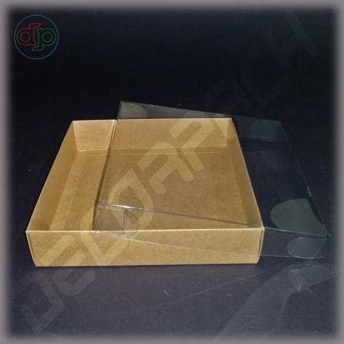 Коробка 160*160*35 мм  с прозрачной крышкой