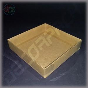 Коробка  120*120*35 мм с прозрачной крышкой без комплекта разделителей