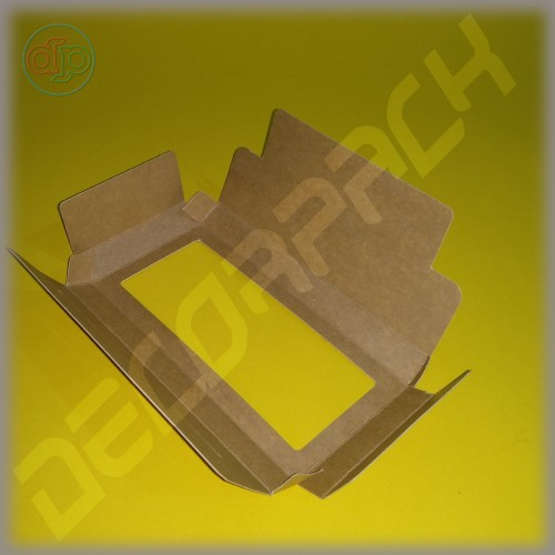 Коробка 135*70*20 мм  (шоколадница c окном)