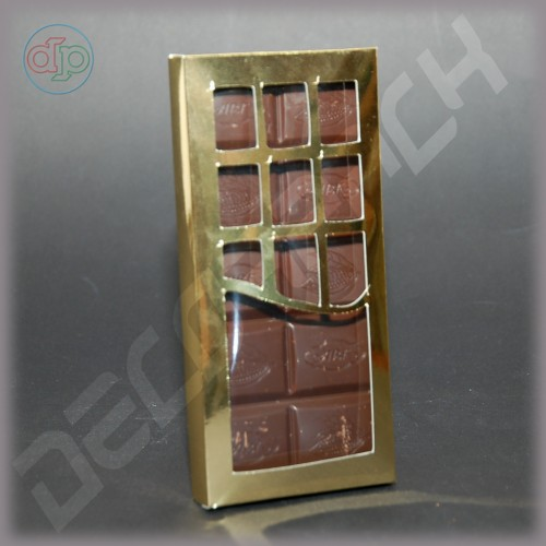 Коробка 156*72*16 мм  (шоколадница c фигурным окном, дизайнерский картон)
