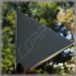 Коробка треугольник 140*140*140*40 мм  с высотой крышки 40 мм