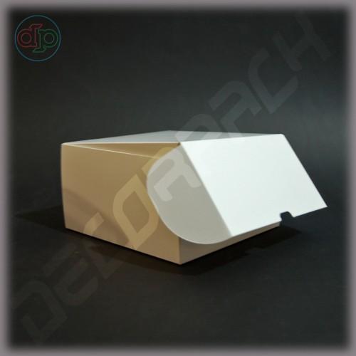 Коробка с откидной крышкой 160*160*90 мм