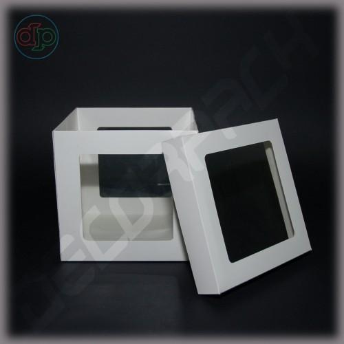 Коробка для упаковки подарков 150*150*150 мм 5 окон