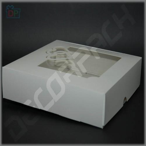 Коробка универсальная для подарка  250*250*60 мм