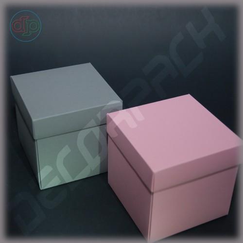 Коробка 100*100*100 мм (распускающаяся роза)
