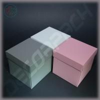 Коробка 100*100*100 мм (распускающаяся роза, дизайнерский картон)