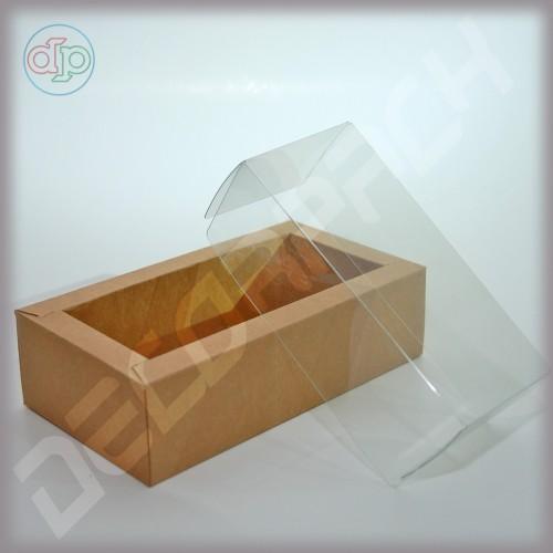 Коробка 180(150)*100(70)*50 мм  (с прозрачной крышкой)