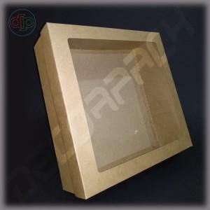 Коробка  300*300*100 мм  с окном
