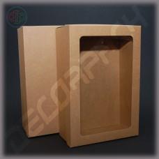 Коробка  400*300*80 мм  с окном