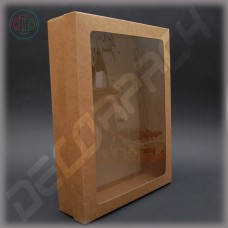 Коробка  400*300*90 мм  с окном