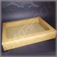 Коробка  400*300*61 мм  с окном