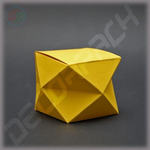 Бонбоньерка 60*60*60 мм (16 треугольников)