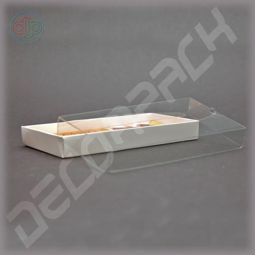 Коробка 130*70*20 мм  (с прозрачной крышкой)