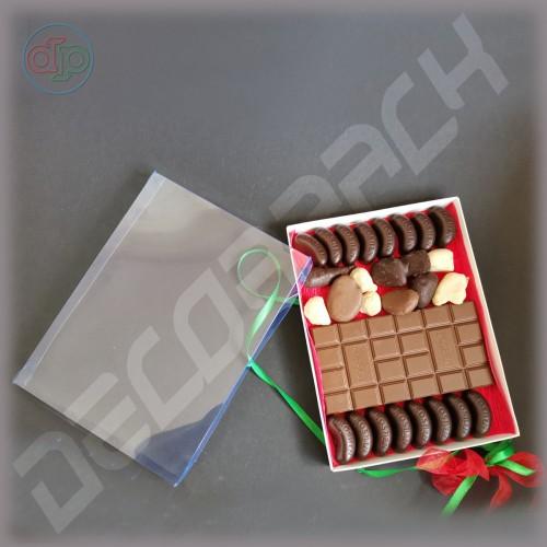 Коробка 200*150*20 мм  (с прозрачной наружной крышкой)