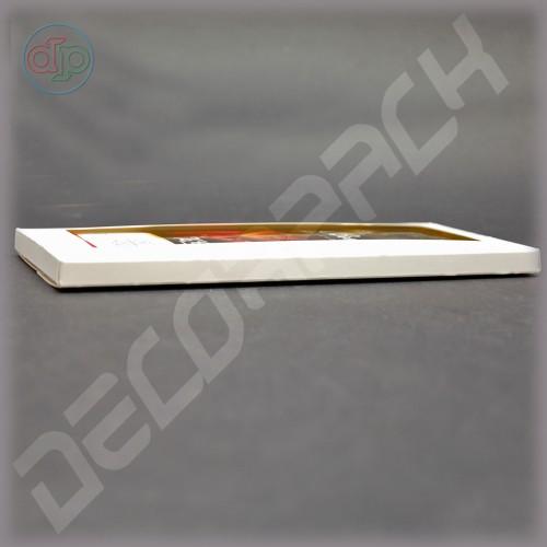 Коробка 222*97*10 мм  (шоколадница c окном)