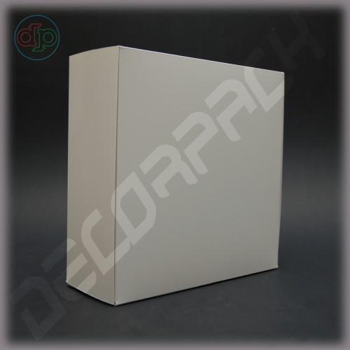 Коробка 230*230*90 мм с откидной крышкой