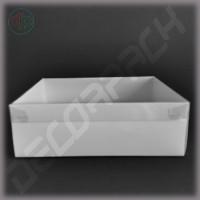 Коробка  240*170*80 мм  с наружной пластиковой крышкой