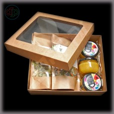 Коробка 245*200*80 мм (прямоугольное окно)
