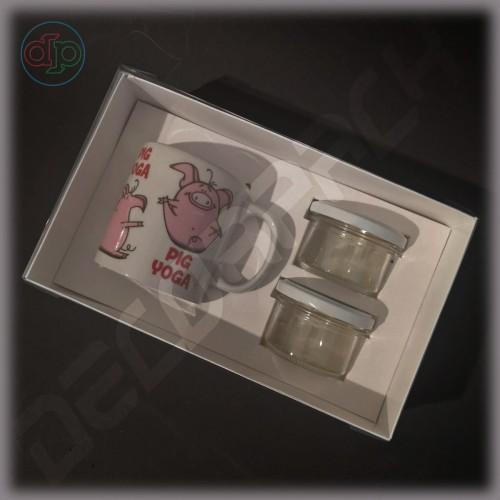 Коробка  250*150*80 мм  с наружной пластиковой крышкой