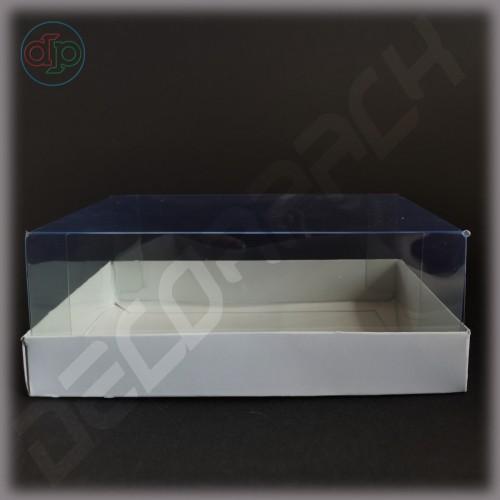 Коробка 180*110*65 мм  (с прозрачным куполом)