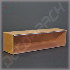 Коробка 120*40*35 мм с прозрачной внутренней крышкой