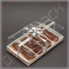 Коробка 220*120*70 мм с прозрачной крышкой-купол
