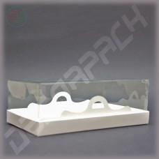 Коробка 200*110*60 мм  (с прозрачным куполом)