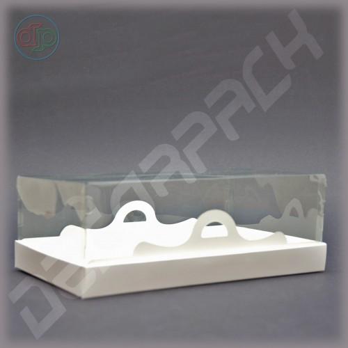 Коробка 200*110*85 мм  (с прозрачным куполом)
