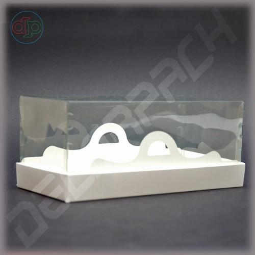 Коробка 230*150*60 мм с прозрачной крышкой-купол