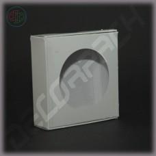 Коробка 100*100*30 мм  (c круглым окном)