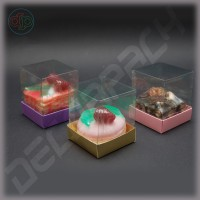 Коробка 60*60*70 мм  (с прозрачным куполом)