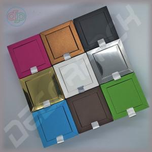 Коробка 80(60)*80(60)*50 мм с внутренней картонной крышкой