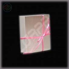 Коробка 100*100*22 мм с прозрачной внутренней крышкой
