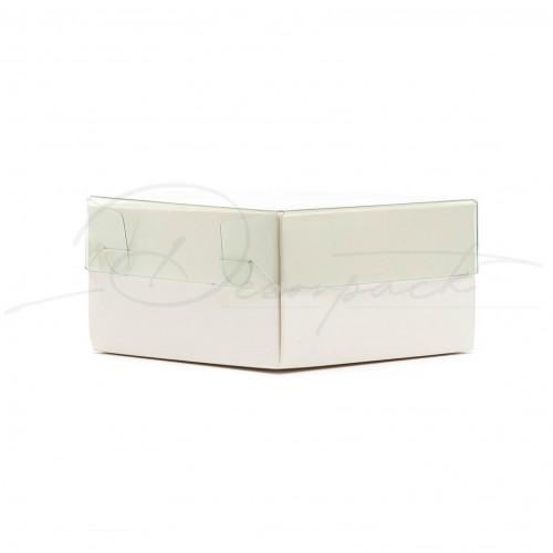 Коробка 90*90*50 мм с прозрачной крышкой