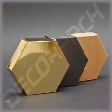 Шестигранная коробка 100*100*25 мм